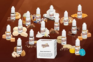 Assortment of Bakery Flavors For Making E Juice